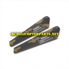 Hak308-04 Bottom Main Blade Parts for Haktoys HAK308 Helicopter