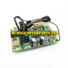 HAK622-09 27MHZ 3.5 Channel Receiver Board Parts for Haktoys HAK622 Helicopter