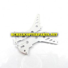 K2-19 Main Frame Metal A Parts For Kingco K Model K2 RC Helicopter