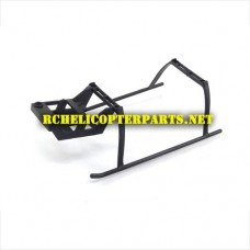 807-12 Landing Gear Parts for Top Race TR-807 Helicopter