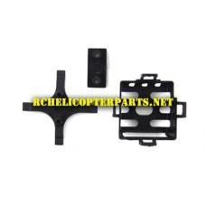RCTR-MQ4-02 Main Frame Parts for TR-MQ4 Mini F22 Quadcopter Drone