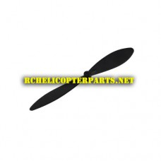 H-755G-07-Black Tail Rotor Parts for H-755G Gyrotech Helicopter