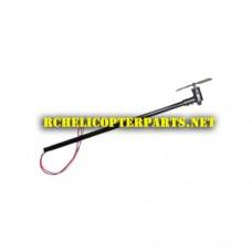 HAK622-10 Tail Motor Set Parts for Haktoys HAK622 Helicopter