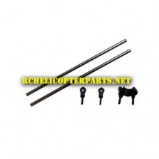 HAK635C-11 Tail Boom Support Parts for Haktoys HAK635C Helicopter