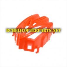 Hak903-09-Red Cabin Parts for Haktoys Hak903 Nano Quadcopter Drone