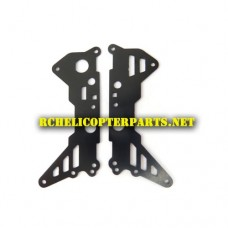 32484-17 Main Frame Metal Part A Parts for ODS Radiofly Hellfire Helicopter