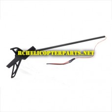 TR-808-06 Tail Assembly Parts for Top Race TR808 3D Helicopter
