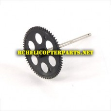 TR-808-13 Main Rotor Gears With Shaft Parts for Top Race TR-808 RC Helicopter