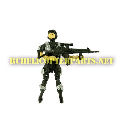 HK685-23 Sniper Parts For Haktoys HK-685 Helicopter