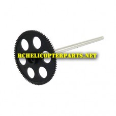 K16-18 Gear B with Outter Shaft Part For Kingco K16 RC Helicopter