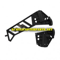 K6-10 Tail Fin Part for Kingco K6 Helicopter