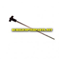 Ginzick GZ4CHB16-08 Main Shaft for Ginzick Speed Zoom Race Boat Parts