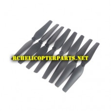 RK2300-40 Main Propellers 8PCS parts for Polaroid PL2300 Quadcopter Drone