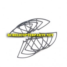 RK2300-41 Main Propellers Guard 8PCS parts for Polaroid PL2300 Quadcopter Drone