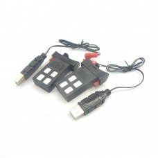 Battery (2) and USB (2) for Akaso A31 Drone