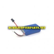 QDRMAX-06 Lipo Battery Parts for AWW AW-QDR-MAX DGL Quadrone Maximus RC Quadcopter Drone