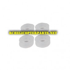 F18-17 Soft Pad 4PCS Parts for Contixo F18 GPS Drone Quadcopter