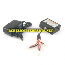 F18-22 3 IN 1 Charger Parts for Contixo F18 GPS Drone Quadcopter