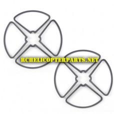 DCW-360-39 Propeller Guard 8PCS Parts for Denver DCW-360 Drone Quadcopter