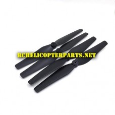 P70-GPS-02 Main Propellers 4PCS Parts for Promark P70 GPS Shadow Drone Quadcopter