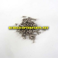 P70-GPS-04 Screws Parts for Promark P70 GPS Shadow Drone Quadcopter