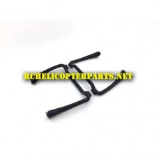 P70-GPS-07 Landing Skid 2PCS Parts for Promark P70 GPS Shadow Drone Quadcopter