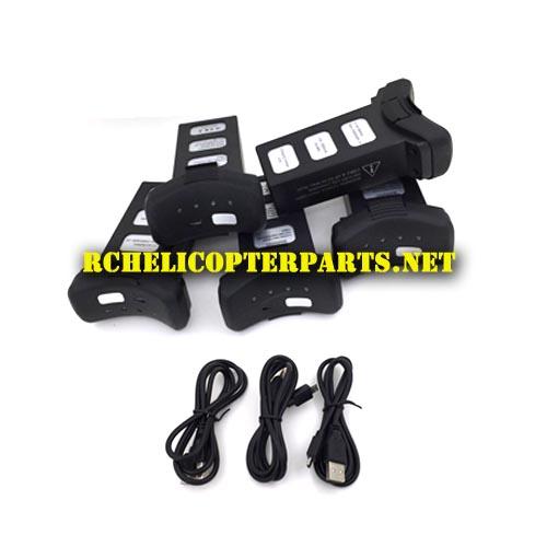 P70 GPS 41 Drone Lipo Battery 5PCS USB 3PCS Parts For Promark Shadow Quadcopter