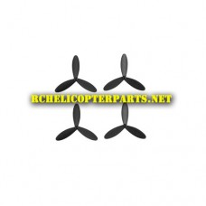 VKPX-01 Main Propellers 4PCS Parts for Protocol Pixie Foldable Drone with Live Streaming Camera