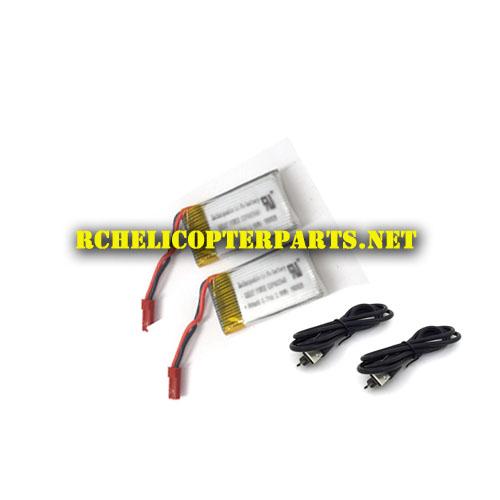 Dx4 41 Lipo Batteries 2pcs Usb Cable 2pcs Parts For Sharper Image