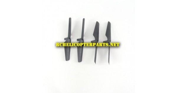 Dx5 02 Main Propellers 4pcs Parts For Sharper Image Dx 5 Video