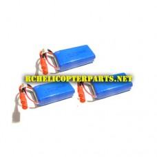 K88-25 Lipo Batteries 3PCS Parts for kingco K88 Drone Quadcopter