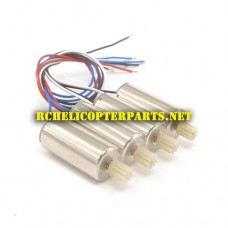 K55G-31 CW Motor 2PCS and CCW Motor 4PCS Parts for Kingco K55G Vision FPV Drone Quadcopter