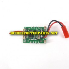 K85-06 PCB Receiver Board  Parts for Kingco K85 Explorer Quadcopter Drone