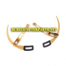 AW-BD-02-Gold Protection Base Parts for AWW AW-QDR-BLA Blade Quadcopter Drone