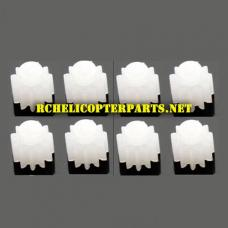 AW-6AX-WOC-28 Mini Gear for Motor 8PCS Parts for AWW AW-QDRX-CAM Scorpion XLC Drone Quadcopter