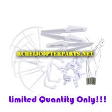 Crash Kit Full Part Set 4*motors Propellers Landing Skid Protectors Motor Base for AWW Quadrone Pro Drone Quadcopter