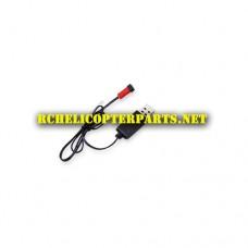 QDR-LNA-02 USB Charging Cable Parts for AWW AW-QDR-LNA Quadrone Hybrid Drone Quadcopter