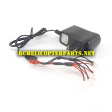 QDR-COV-18 Wall Charger for Charging 5 Batteries Parts for AWW AW-QDR-COV Quadrone Covert Quadcopter