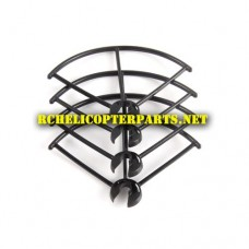 910F-06 Protection Base 4PCS Parts for Haktoys HAK910F Wifi Quadcopter Drone with Live Camera