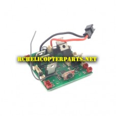 6098-14 FPV Receiver Board 5.8ghz Parts for Riviera RIVRIV-W609-8 RC Pathfinder Hexacopter Drone