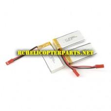 GK 183-30 Lipo Batteries 3PCS Parts for S-idee 01251 Quadrocopter S183C Drone Quadcopter