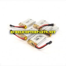 TD-15 Upgrade 300mAh Batteries 5PCS for Top Race 3D T Drone Quadcopter