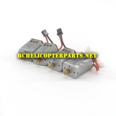 61827CA-34 Main Motor 4PCS (2CW + 2CCW) Parts for Protocol Propel 6182-7CA Galileo Stealth Drone Quadcopter