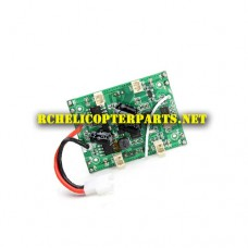 QC1-09 PCB Receiver Board Parts for QCopter QC1 Drone Quadcopter