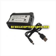 RC-C007 2 in 1 Charger Spare Parts for Charging Two Batteries together